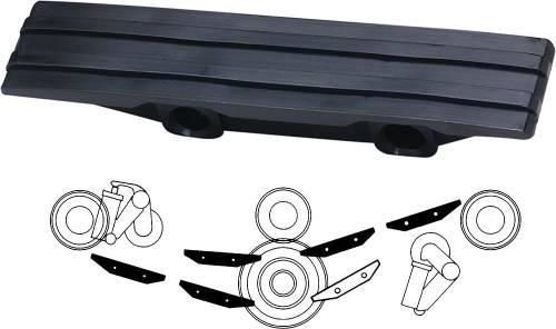 Performance Products® - Porsche® Chain Guide Rails, Black, 1965-1989 (911)