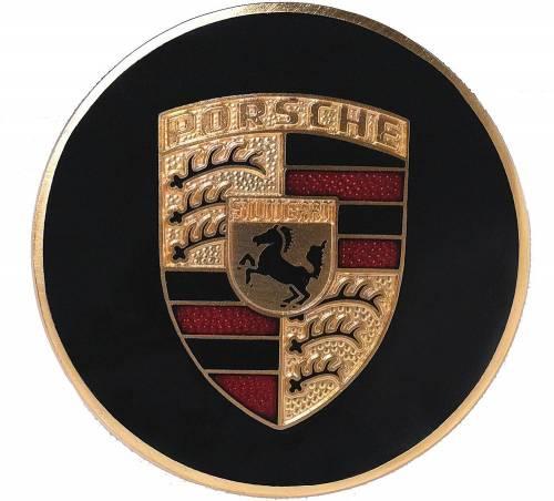 GENUINE PORSCHE - Porsche® Replacement Hubcap Crest, 1960-1973