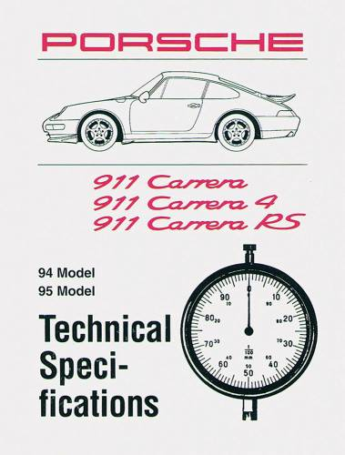 Performance Products® - Porsche® Spec Book, 1975 (911)