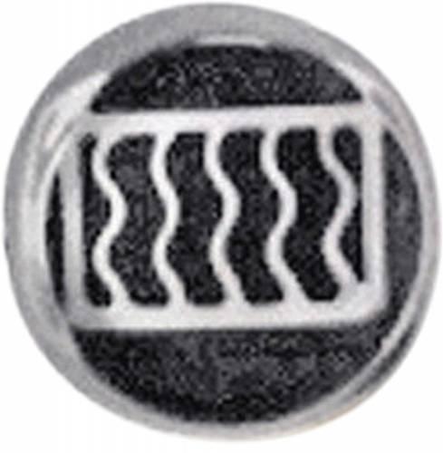 GENUINE PORSCHE - Porsche® Rear Window Defroster Emblem, 1965-1973 (911/912/Carrera)