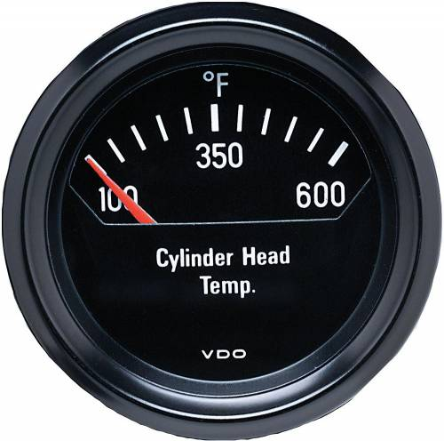 Performance Products® - Porsche® Temperature Gauge, Cylinder Head, 12 Volt