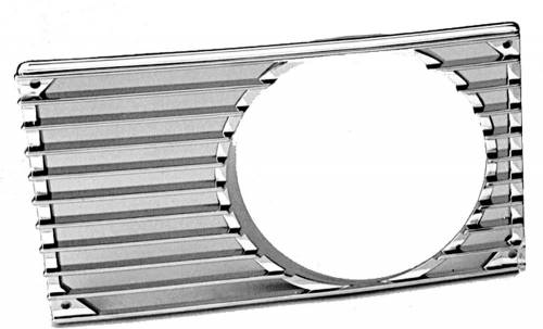 GENUINE PORSCHE - Porsche® Horn Grille With Fog, Primered Right, 1970-1974 (914)