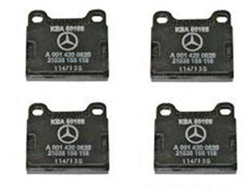 Performance Products® - Porsche® Brake Pads, With M Calipers, Front/Rear, 1964-1983