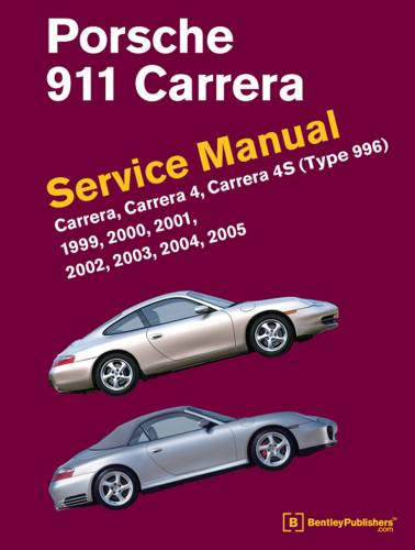 Performance Products® - Porsche® 911 Cerrera Service Manual, 1999-2005 (996)