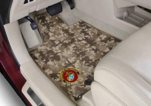 Lloyd Mats - Lloyd Camo Floor And Cargo Mats • Six camo designs! • 20 oz./ sq. yard premium single ply nylon cut pile carpet • 3 Year Warranty